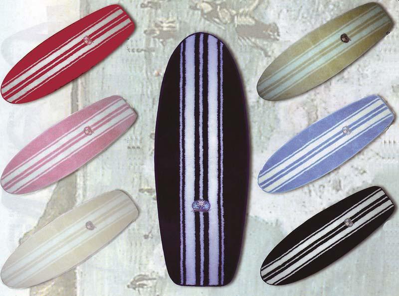 Area Rug Surfboard Shape Bath Mat Home Bathroom Door